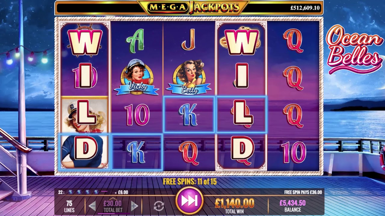 Ocean Free Slot Machines and Themed Games
